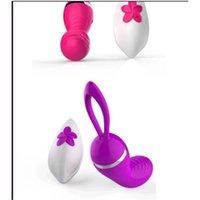 Wholesale High Quality Vibrating Dildo - 20 Speed Wireless Waterproof vibrating Egg Clitoris Stimulator Women Body Massager Vibrator Sex Toys Audlt Product Remote Dildo High Quality