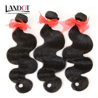Wholesale natural human hair extensions best resale online - Brazilian Human Hair Weave Extensions Peruvian Malaysian Indian Cambodian Mongolian Hair Body Wave Bundles Dyeable Grade A Best Quality