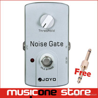 Wholesale Guitar Effects Pedals Noise - Free shipping Joyo silver Noise Gate JF-31 Guitar effect Pedal Free connector mu0020