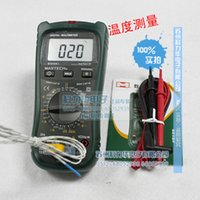 Wholesale capacitor meters - MASTECH MS8260C DMM HZ Temperature Meter Tester Capacitor w hFE Test Multimetro LCD Backlight Megohmmeter Digital Multimeter order<$18no tra