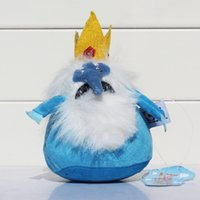 Wholesale Ice King Adventure Time - Wholesale-1Pcs 18cm Ice King Plush Adventure Time Stuffed Plush The Ice King Soft Dolls Toys Great Gift Small Size