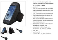 Wholesale Defy Cover - Wholesale-BLACK Sport Armband Case Bag Cover for ZOPO 700 Zp700 + DEFY plus+Fishbone Wrap Free Shipping