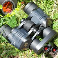 av çift dürbün toptan satış-60x60 3000 M Ourdoor Su Geçirmez Teleskop Yüksek Güç Çözünürlüklü Binoculos Gece Görüş Avcılık Dürbün Monoküler Telescopio Yeni