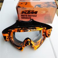 Wholesale Dirt Bike Ktm - 207 Newest KTM Motocross Goggle Motorcycle Dirt Bike Downhill Glasses Motocross Off-Road Eyewear ATV Gafas For KTM Helmet