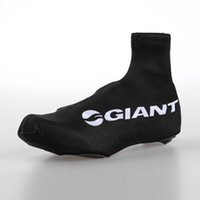обувь для велоспорта онлайн оптовых-Wholesale-2015 Giant Cycling Shoe Cover   Cycling Overshoes   Cycling Shoe Accessories Black Size:S-XXXL Free Shipping