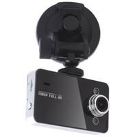 лучшие камеры оптовых-Автомобильный видеорегистратор камеры Blackbox K6000 HD 720P 90 градусов угол 2.4 дюйма TFT LCD видеорегистратор лучшее качество