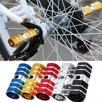 Wholesale Blue Bike Pedal - 2x BMX Bicycle Cycling Bike Hexagonal Axle Pedal Aluminum Alloy Foot Stunt Pegs