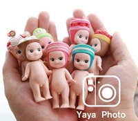 Wholesale Mini Doll Figurine Wholesale - 12 pcs Bag Sonny Angel Series Dreams Baby Kewpie Dolls Action Mini Figure Figurine decoration Toys With Retail packaging Free Shipping