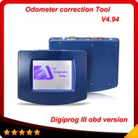 Wholesale New Vw Odometer Correction Tool - 2016 new and hot digiprog III Digiprog3 Digiprog 3 V4.94 odometer programmer correction tool Multi-language free shipping