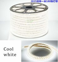 Wholesale Led Strip Lights Outdoor Use - home use Waterproof SMD2835 5050 5730 220v AC led flexible strip light with 6 colors for choice for in or outdoor lighting