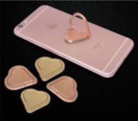 Wholesale Ring X Shape - Mobile Phone Ring Stand 360° Spinner Metal Heart-shaped Ring Holder Smartphone Universal Holder for iphone x I8 I7 Galaxy S8 S8edge N8