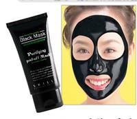 ingrosso maschera di fango neri-SHILLS Deep Purificante purificante peeling off Fango nero Maschera facciale New Blackhead Rimozione maschera viso 50ml