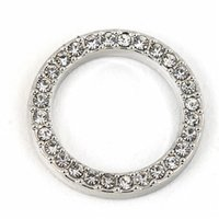 Wholesale New Designs For Glass Memory - 2017 New Design Round Floating Locket Window Plates with Crystals For Memory Glass Lockets 50pcs lot