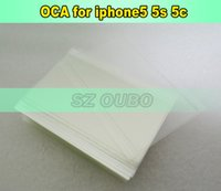 Wholesale Iphone 5g Iphone5 - 250um OCA film for repair broken LCD touch screen for iPhone 5 5s 5c 5G for iPhone5 LCD   Digitizer oca laminator