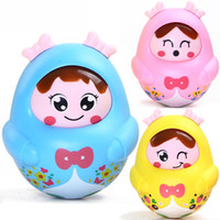 Wholesale plastic puzzles for babies for sale - Group buy baby toys large tumbler nodding doll baby children puzzle toys for children years old