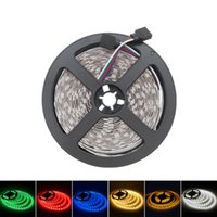 5M / lot LED Strip IP20 60LED / M SMD 5050 LED flessibile 5 Meter blu / rosso / giallo / verde / bianco di TRASPORTO