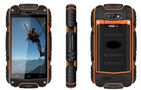 Wholesale new discovery V8 android capacitive screen phones smart phones Waterproof Dustproof Shockproof WIFI Dual camera COLORS ZKT