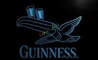 Wholesale Guinness Led Signs - LA012-TM Guinness Toucan Beer Bar Pub Club Neon Light Sign. Advertising. led panel.jpg