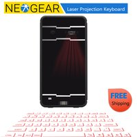 Wholesale Laser Projection Keyboard For Laptops - Wholesale-Wireless Laser Projection Keyboard With Mouse And Bluetooth Speaker Bluetooth 3.0, For Android + Windows