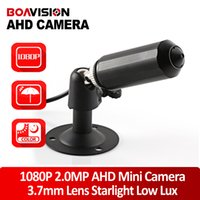 """Wholesale Starlight Outdoor - 1 3""""IMX322 HD 2.0MP Mini Bullet AHD Camera 1920*1080P Outdoor Waterproof 3.7MM Lens CCTV Security Camera StarLight Low Lux For AHD DVR"""