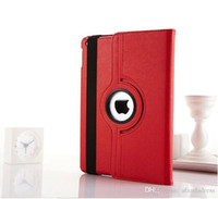 Wholesale Ipad2 For Sale - 2016 Hot Sale 360 Degree Rotation smart Stand PU Leather Case Cover For Apple for ipad 2 3 4 mini 2 3 4
