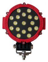 Wholesale Lighting 51w Led Round - High Quality 7 Inch 51W LED Driving Light 17pcs*3W Waterproof Pass CE ROHS EMC Motorcycle Lighting fog light