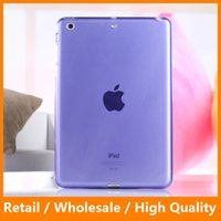 Для iPad Mini1234 Cover Case Smooth Top TPU Soft Clear Прозрачная крышка Back Skin Protector Tablet Bags