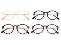 Wholesale Pc Wipes - Women Full-Rim Plain Eyeglasses Frame Men Super Light Quality Eyewear Frame Reading Myopia Prescription Glasses Frame