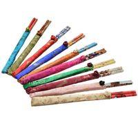 ingrosso seta di bacchette-I migliori regali bacchette di seta cinese imposta viaggi souvenir artigianato bacchette di bambù decorazione cucina strumenti di cottura all'ingrosso