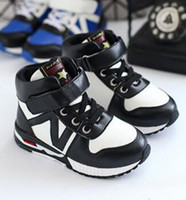 Wholesale Korean Fashion Shoes For Boys - New Winter Korean Fashion Kids Boys Girls Casual Shoes Patchwork Running Shoes For Wholesale Cotton Warm Children Sneakers KS81210-24