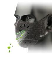 maske ağzı bisikleti toptan satış-2018 CoolChange Bisiklet Yüz Için Ağız-Muffle Maske Maske Toz Toz Geçirmez Bisiklet Spor Eğitim Maske Korumak MTB Bisiklet Aksesuarları