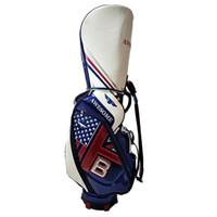 Wholesale Golf Equipment Free Shipping - 2017 New Golf bags Golf cart bags high quality PU Clubs bag colors in choice Golf equipment free shipping