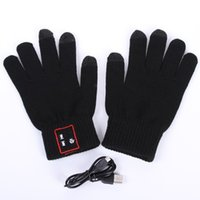 Wholesale gloves for iphone - Bluetooth 3.0 Calling Talking Gloves Smartphone Wireless Touch Screen Built-in Speaker Microphone for iphone 6s Samsung S6 HTC