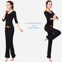 Wholesale Wholesale Yoga Style Clothing - women Yoga outfits, fashion dancing Yoga sets, 3 in 1 athletic clothes,2016 new style 5sizes 7color option