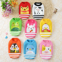 Wholesale Small Animal Wholesale Supply - Cheapest pet supplies autumn and winter thick double-breed puppies small dog clothes dog clothing teacup newborn dogs cat pets clothes