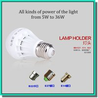 Wholesale High power CREE Led Lamp V W W W W W W non Dimmable E27 E14 B22 Led Light Spotlight led bulb lamps