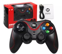 Venta caliente Terios T3 Wireless Bluetooth Gamepad Joystick Game Gaming Controller Control remoto para HTC Android Teléfono inteligente Tablet TV Box