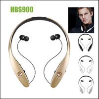 infinim lg bluetooth großhandel-HBS 900 Kopfhörer Headsets Ton + Infinim Neckbands Wireless Stereo Ohrhörer Bluetooth 4.0 Sport Kopfhörer für HBS900 HBS-900 Headsets