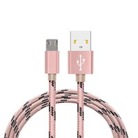 Wholesale Mfi Cables - Nylon fabric usb cable for Samsung S8 super strong mfi quick charging usb cable for Eight pin device