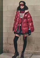 Wholesale French Parka - ME40 Luxury Brand Boys girls waterproof real raccoon fur collar jacket outwear winter french warm snow suit coat anorak children parka 002