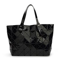 Wholesale Pearl Handbags - 2016 New BAOBAO Women Pearl Designer Bags Diamond Lattice Totes Geometry Quilted Shoulder Bag Sac Folding Handbags Women Famous Brands