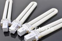 Wholesale 9w Uv Tubes - Retail 9W Nail UV Gel Machine Lamp Light Bulb Tube for Nail Dryer, 12pcs lot + Free Shipping