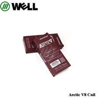 Wholesale Vertical Horizon - 100% Original Horizon Arctic V8 coils V2 V4 Vertical coil V8 0.2ohm Ni200 coil for Arctic V8 Tank vs Herakles plus coil