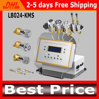 Wholesale Electroporation Machines - No-Needle Mesotherapy Machine Multifunction Electroporation Machines Gavanic Photon Cooling RF Facial Machine For Wrinkle Removal
