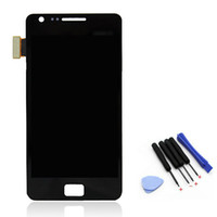 Wholesale Digitizer Original Galaxy S2 - Wholesale-Original New i9100 LCD Display Touch Screen Digitizer Assembly For Samsung Galaxy S2 i9100 Replacement Parts,free shipping