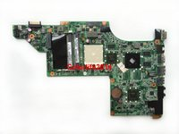 Wholesale laptop motherboards hp dv7 - for HP DV7 DV7 Series DA0LX8MB6E1 Socket S1 DDR3 HD6300 Motherboard Mainboard Working perfect