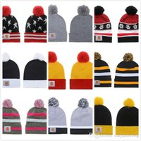 Wholesale New Fashion Winter warm Hip Hop Skullies Diamond Beanie Knitted Hat man women cap