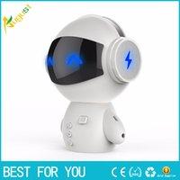 bluetooth de vários alto-falantes venda por atacado-Novo hot Robot Bluetooth Speaker Multi-função Cartão Pessoal Pequeno Festival de Áudio Presente Presente Charger Po novo produto