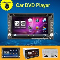 Wholesale Double Din Car Pc Gps - 100% New universal Car Radio Double 2 din car dvd player GPS Navigation In dash Car PC Stereo Head Unit video+Free Map+Free Cad!