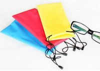 Wholesale Tarpaulin Bags - Glasses cloth bags tarpaulin glasses bag glasses sunglasses pouch bags wholesale multicolor Specials